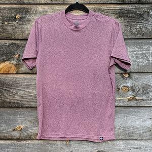 REI Co-Op Heather Red Short Sleeve Crew T-Shirt